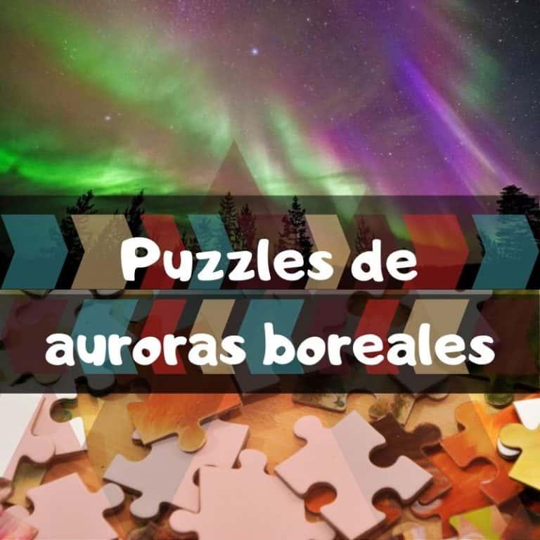 Los mejores puzzles de auroras boreales