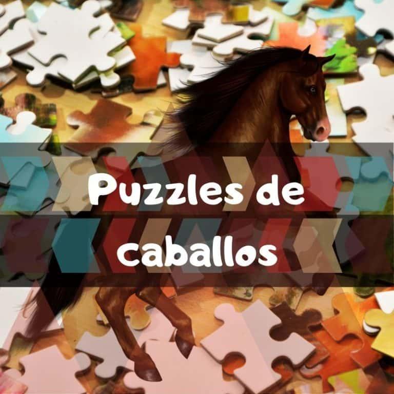 Los mejores puzzles de caballos