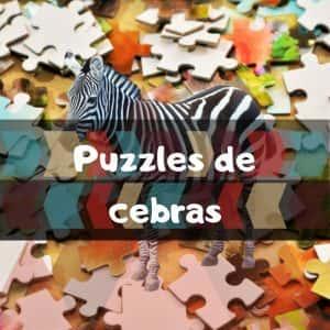 Los mejores puzzles de cebras