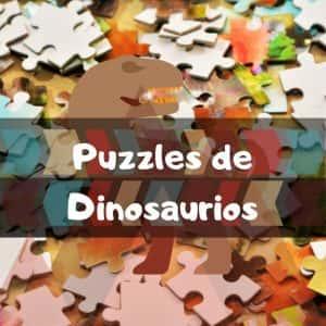 Los mejores puzzles de dinosaurios - puzzles de Jurassic Park y Jurassic World