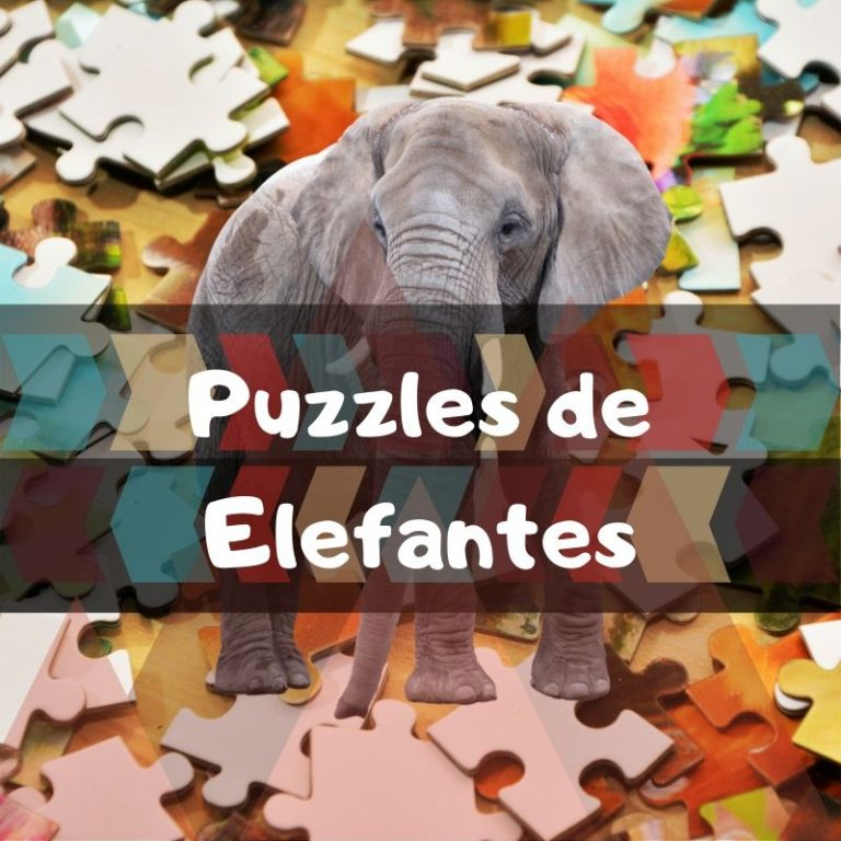 Los mejores puzzles de elefantes