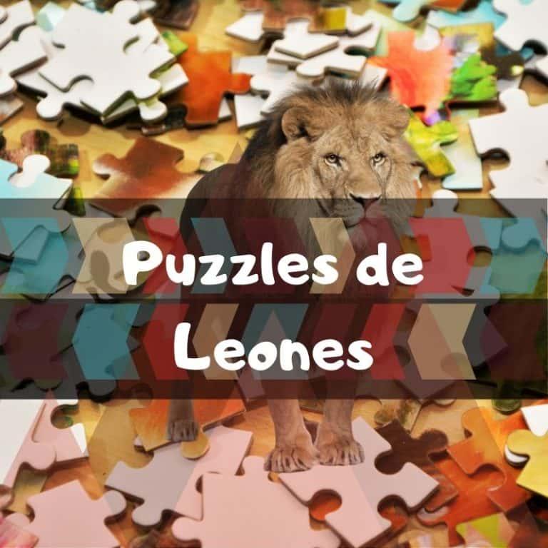 Los mejores puzzles de leones