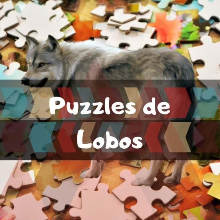 Los mejores puzzles de lobos