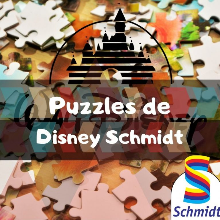Los mejores puzzles de películas de Disney de Schmidt