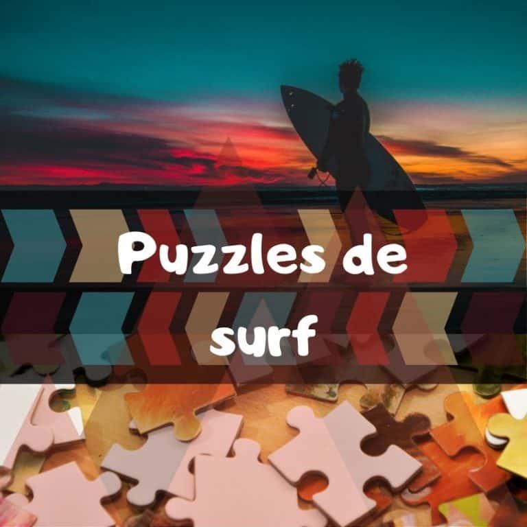 Los mejores puzzles de surf