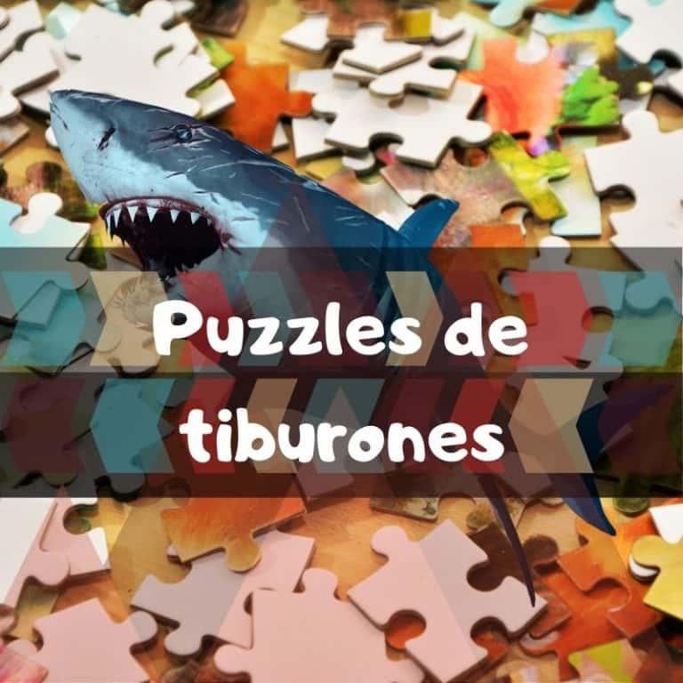 Los mejores puzzles de tiburones