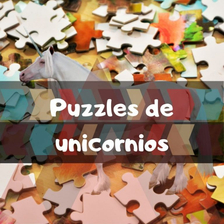 Los mejores puzzles de unicornios