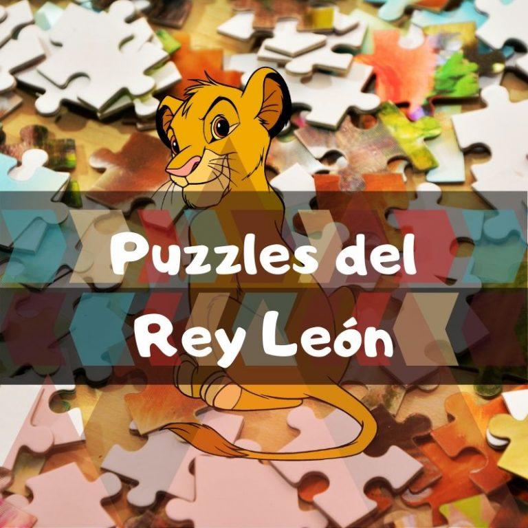 Los mejores puzzles del Rey León