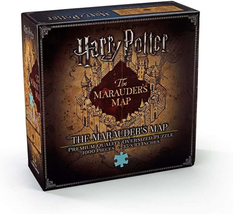 Puzzle de Harry Potter - Colección de puzzles del mapa del merodeador