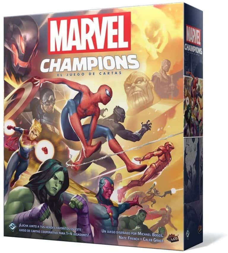 Marvel Champions. Juego de cartas y combate. Juego de mesa de cartas de los vengadores