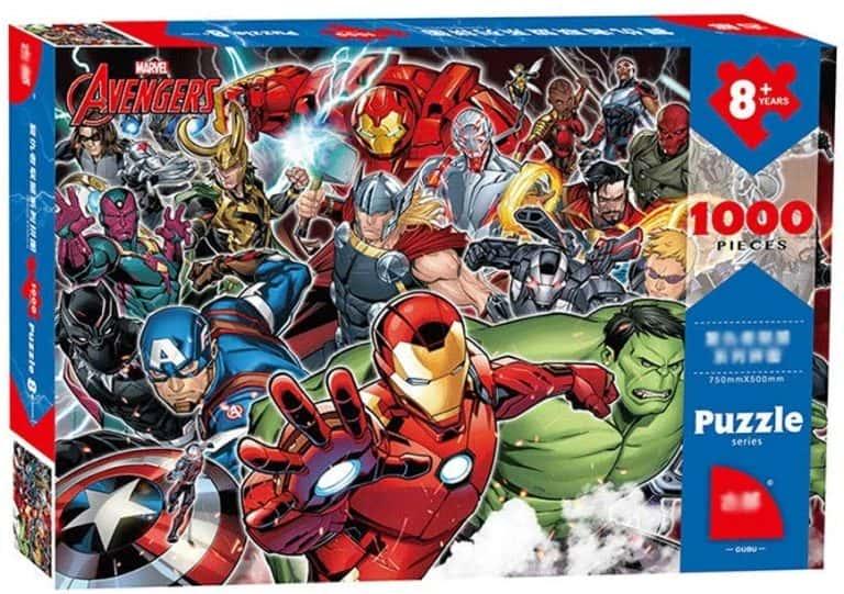 Puzzle de Marvel Comics de los vengadores