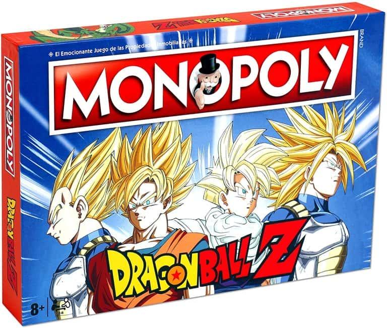 Versiones del monopoly temáticas - Monopoly Dragon Ball Z