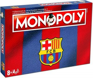 Versiones del monopoly temáticas - Monopoly del FC Barcelona