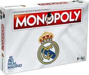 Versiones del monopoly temáticas - Monopoly del Real Madrid