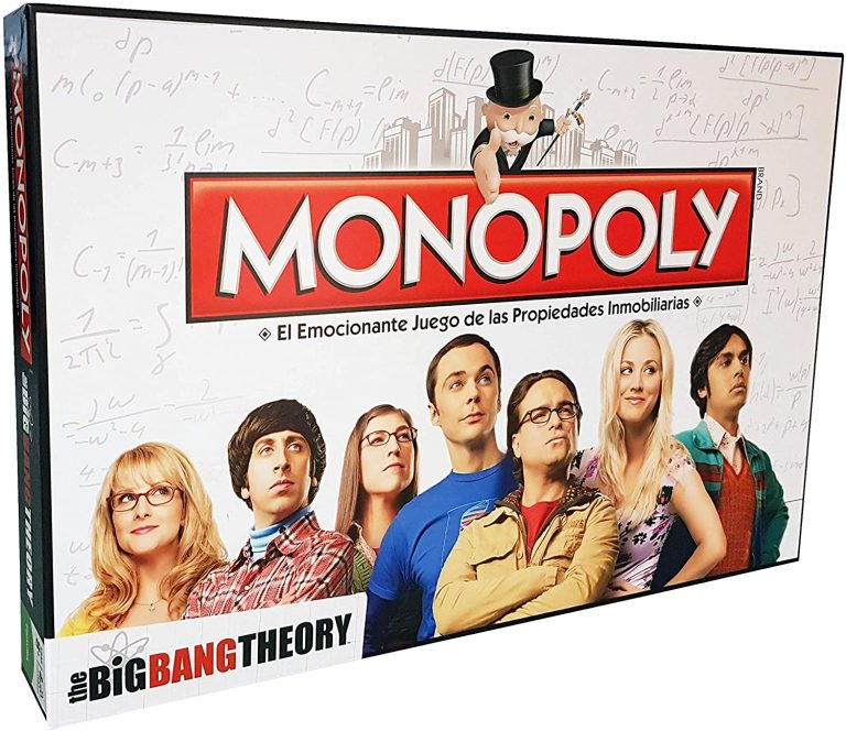 Monopoly versiones de The big bang theory