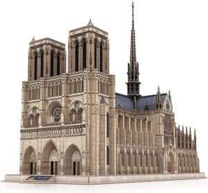Puzzles en 3d - Puzzle de Notre Dame