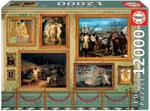 Obras de arte de 12000 piezas