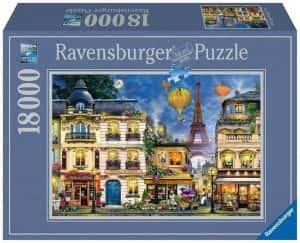 Anochecer en Paris Puzzle de 18000 piezas de París Francia