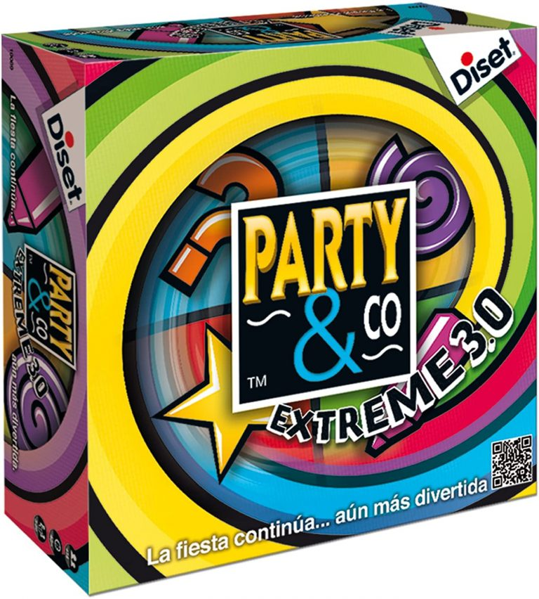 Party and Co Extreme juego de mesa de habilidad maxima