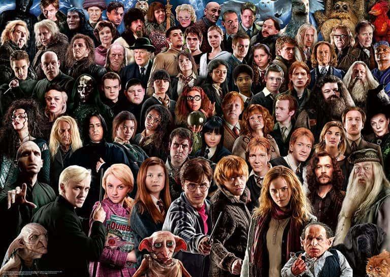 Puzzle de Harry Potter - Colección de puzzles de Harry Potter de personajes de la saga de películas hecho