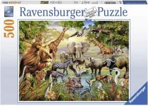 Puzzles de animales de 500 piezas
