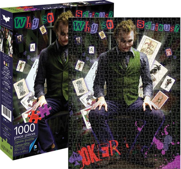 Puzzles de DC - Puzzle del Joker de Heath Ledger