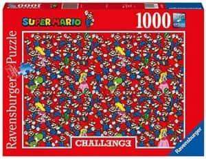 Puzzle de Challenge de Super Mario de 1000 piezas de Ravensburger - Los mejores puzzles de Super Mario - Puzzle de Mario