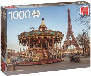 Puzzle de París de Francia de 1000 piezas de Jumbo - Los mejores puzzles de París de Francia - Puzzles de ciudades del mundo