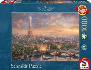 Puzzle de París de Francia de 1000 piezas de Schmidt - Los mejores puzzles de París de Francia - Puzzles de ciudades del mundo