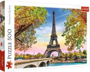 Puzzle de París de Francia de 500 piezas de Trefl - Los mejores puzzles de París de Francia - Puzzles de ciudades del mundo