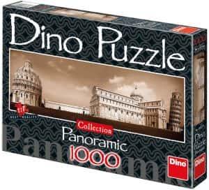 Puzzle de Pisa de 1000 piezas de Dinotoys - Los mejores puzzles de Pisa en Italia - Puzzles de ciudades del mundo
