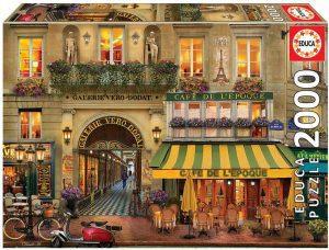 Puzzle de calles de París de Francia de 2000 piezas de Educa - Los mejores puzzles de París de Francia - Puzzles de ciudades del mundo