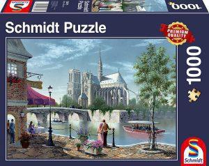 Puzzle de la Catedral de Notre Dame de París de Francia de 1000 piezas de Schmidt - Los mejores puzzles de París de Francia - Puzzles de ciudades del mundo