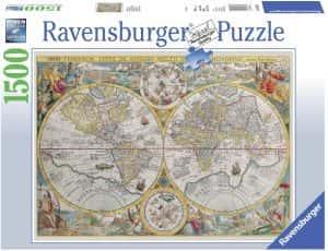 Puzzles de mapamundi histórico