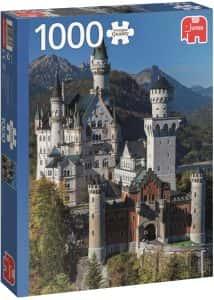 Puzzles de Castillo Neuschwanstein - Puzzle del Castillo Neuschwanstein de 1000 piezas de Jumbo