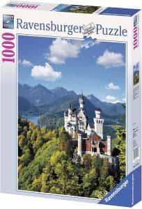 Puzzles de Castillo Neuschwanstein - Puzzle del Castillo Neuschwanstein de 1000 piezas de Ravensburger