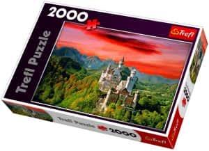Puzzles de Castillo Neuschwanstein - Puzzle del Castillo Neuschwanstein de 2000 piezas de Trefl