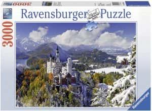 Puzzles de Castillo Neuschwanstein - Puzzle del Castillo Neuschwanstein de 3000 piezas de Ravensburger