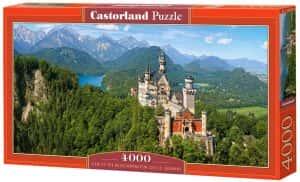 Puzzles de Castillo Neuschwanstein - Puzzle del Castillo Neuschwanstein de 4000 piezas de Castorland