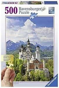 Puzzles de Castillo Neuschwanstein - Puzzle del Castillo Neuschwanstein de 500 piezas de Ravensburger
