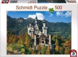 Puzzles de Castillo Neuschwanstein - Puzzle del Castillo Neuschwanstein de 500 piezas de Schmidt