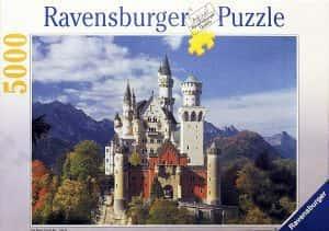 Puzzles de Castillo Neuschwanstein - Puzzle del Castillo Neuschwanstein de 5000 piezas de Ravensburger