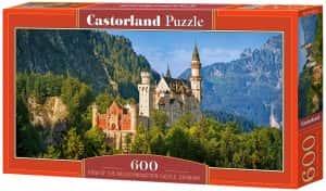 Puzzles de Castillo Neuschwanstein - Puzzle del Castillo Neuschwanstein de 600 piezas de Castorland