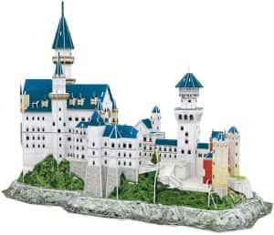 Puzzles de Castillo Neuschwanstein - Puzzle del Castillo Neuschwanstein en 3D de 121 piezas de Cubic Fun