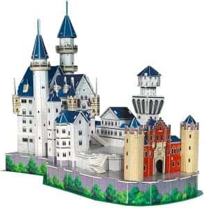 Puzzles de Castillo Neuschwanstein - Puzzle del Castillo Neuschwanstein en 3D de 98 piezas