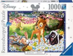 Puzzles de Disney de Ravensburger de 1000 piezas - Puzzle de Bambi
