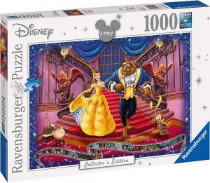 Puzzles de Disney de Ravensburger de 1000 piezas - Puzzle de La Bella y la Bestia