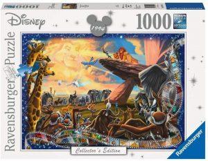 Puzzles de Disney de Ravensburger de 1000 piezas - Puzzle del Rey León