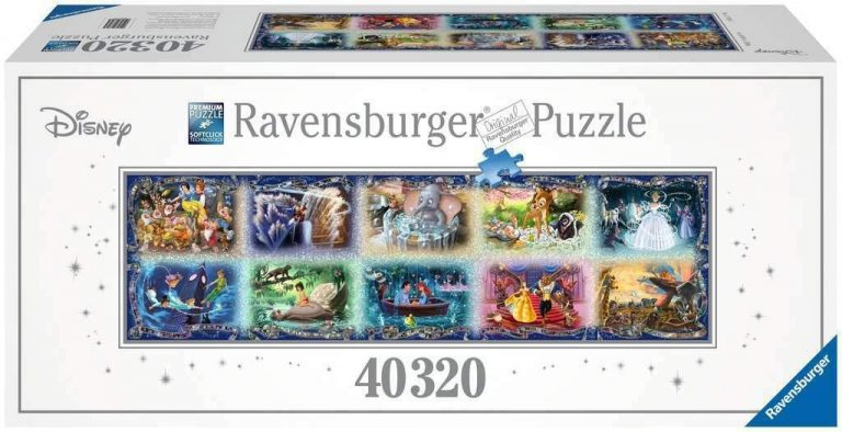 Puzzles de Disney de Ravensburger de 40320 piezas - 10 cuentos