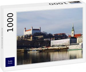 Puzzles de Eslovaquia - Puzzle del Castillo de Bratislava de 1000 piezas
